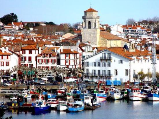 visiting st jean de luz on the french coast - picture of