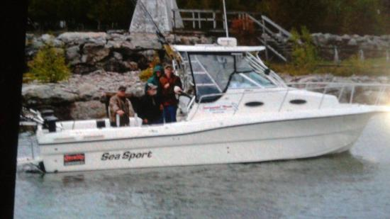 South Baymouth, Canada: Screaminreels Sportfishing Charters