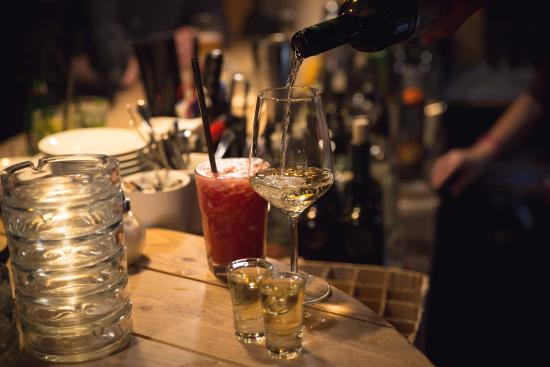 Rakia Bar Zemun: Rakija cocktails!