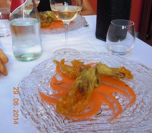 L'Angolo di Rosina : Förrätt på restaurangen