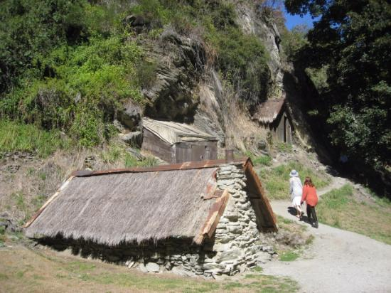 Arrowtown, Nova Zelândia: the huts of the Chinese settlement