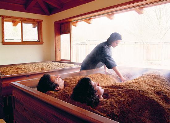 Sonoma County, Kalifornia: Osmosis Enzyme Bath