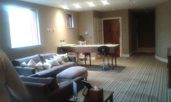 Cuckfield, UK: treatment room upstairs