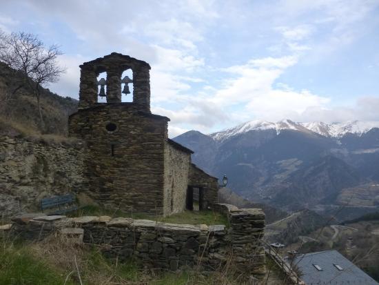 Fontaneda, Andorre : église Sant Miquel de la Fontadena
