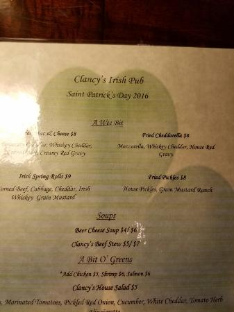 Clancy's Irish Pub