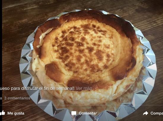 Tarta de queso paso a paso - PequeRecetas