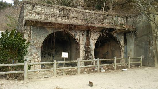 Sangenya Poison Gas Storehouse Remains
