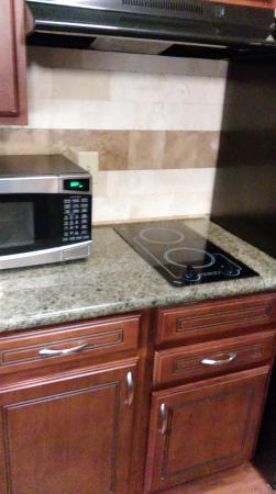 Staybridge Suites North Charleston: Kitchenette microwave and hotplates