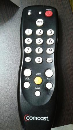 Quality Inn Merrillville: Dirty remote