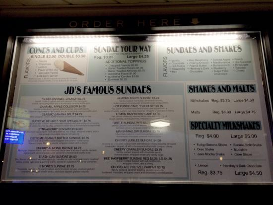 Englewood, OH: J D's Old Fashioned Frozen