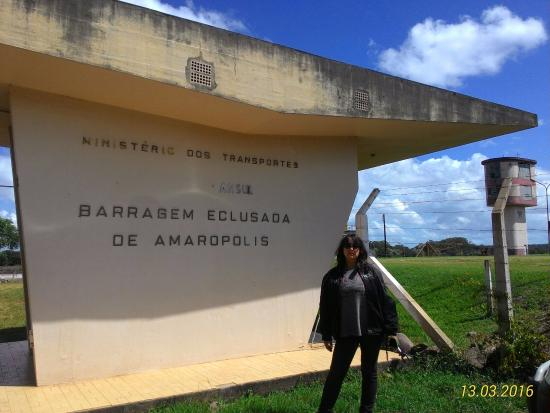 Dam & Floodgate of Amarópolis