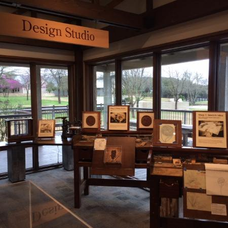 James Avery Craftsman: Great memorabilia from James Avery workshop at the Visitor's Center in Kerrville, TX.
