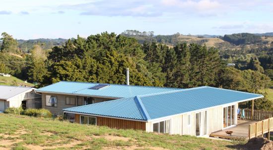 Waimauku, Nieuw-Zeeland: Arriving at Pukeatua Farmstay