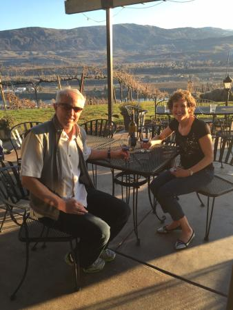 wine sunshine and view this was a good day picture of martin rh tripadvisor com