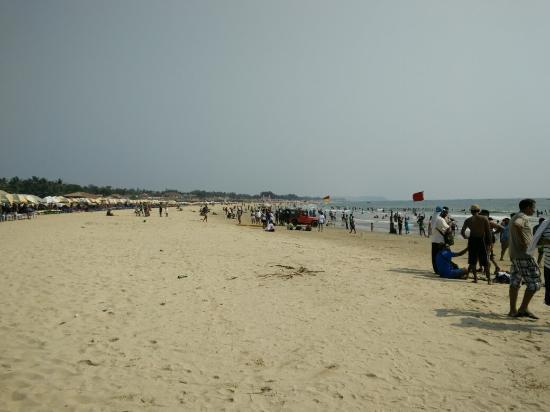 Baga, India: Sexy beach