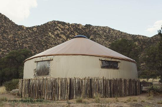 Pearce, AZ: The Yurt is amazing inside!