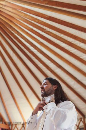Pearce, AZ: The Yurt was the perfect Groom's Quarters