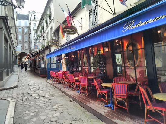 Back entrance procope passage cours st andr picture - Cours cuisine viroflay ...