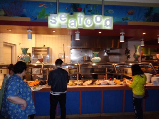 seafood section picture of spice market buffet las vegas rh tripadvisor com