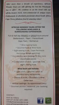 African Wonder Tours: 20160318_081552_large.jpg