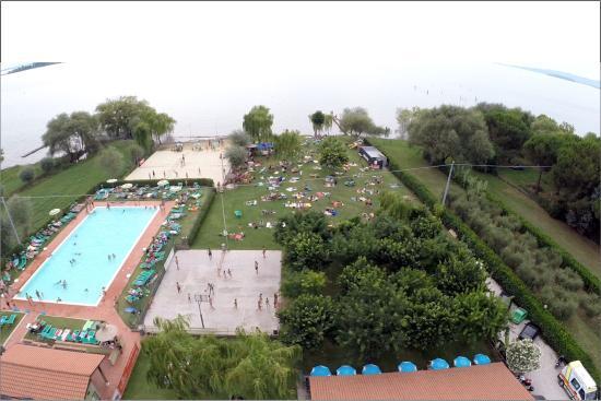 San Feliciano, Italie : Vista dall'alto