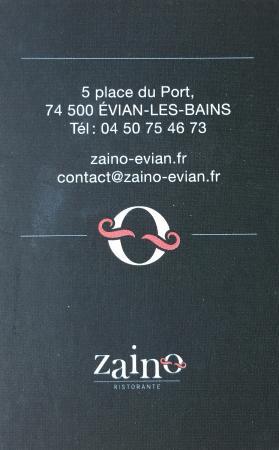 Zaino Carte De Visite