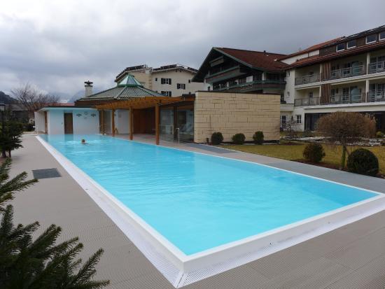 THERESA Wellness Geniesser Hotel: 25 m Sportpool beheizt