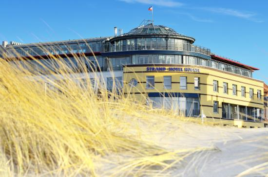Aussicht vom dach picture of strand hotel huebner for Warnemunde hotel gunstig