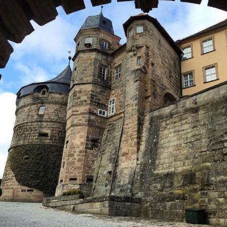 Kronach, Germany: Замок над городом