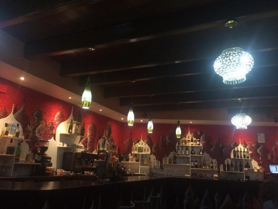 taj palace: Interior del local