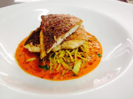 Everest Inn: Red Snapper with Cabage