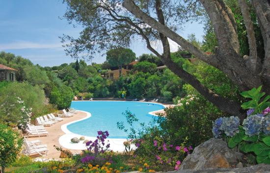 Residence Il Mirto : piscina di acqua marina
