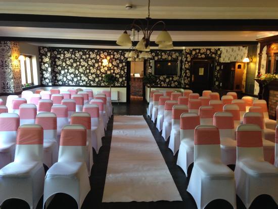 Meppershall, UK: Wedding Ceremony