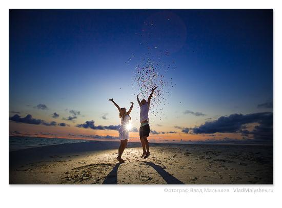 Kuramathi: Свадьба на Мальдивах (на песчаной косе)