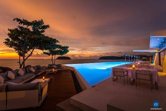 romantic kata rocks restaurant picture of the oceanfront rh tripadvisor in