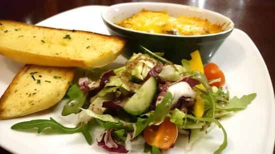 The Lochailort Inn: Our Delicious Vegetarian Lasagna
