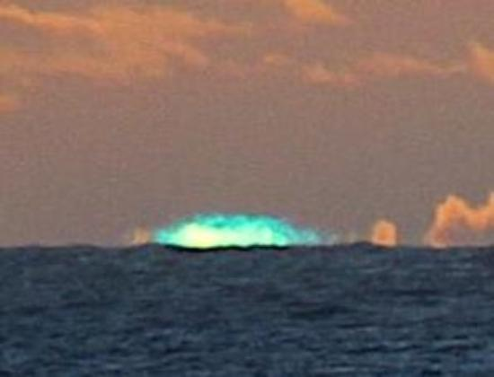Holetown, Barbados: The green flash!