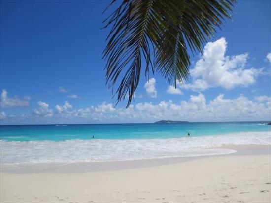 Νήσος Πράσλιν, Σεϋχέλλες: 青が濃い!