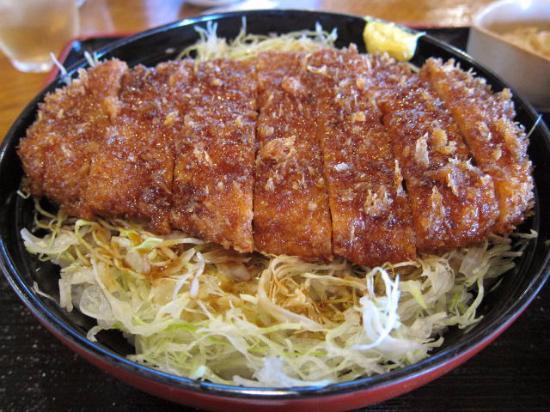 Minowa-machi, Japón: 料理の様子