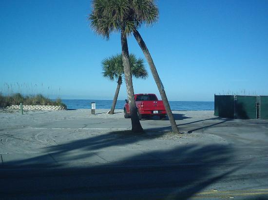 Suncoast Motel: in the morning stroll