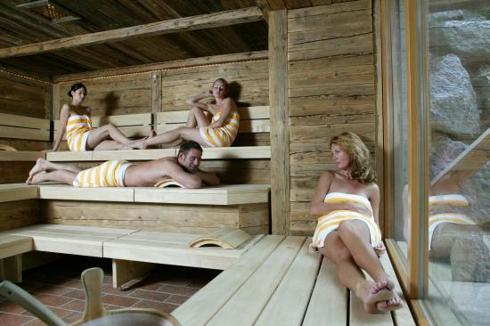 Hotel Alpenblick: Sauna