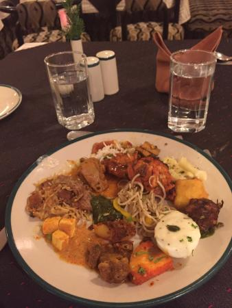dinner buffet for 962 rupees thermally hot with indian deserts rh tripadvisor com au