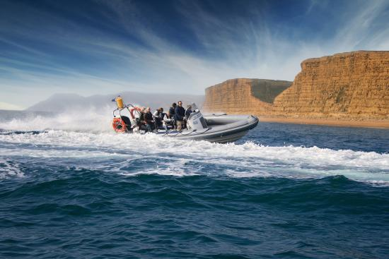 West Bay, UK: Multi-award winning RIB Charter
