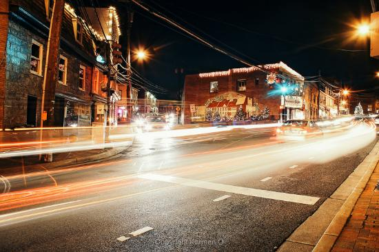 Downtown Ellicott City Photographed by Karmen O