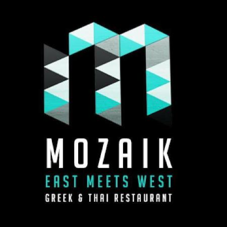 Sawadee Thai and International Cuisine: Mozaik-Ios-Greece restaurant is up in the village on the main street next to rollan super market