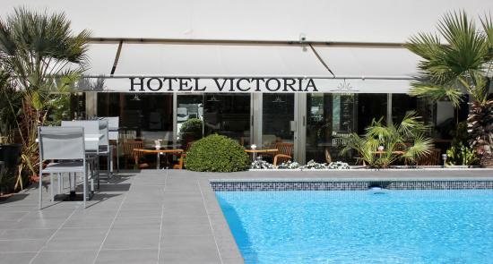 Entr e picture of hotel victoria cannes tripadvisor for Entree hotel