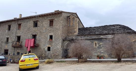 Roda de Isabena, Španělsko: ¿Quien diria que aqui se come? y bien