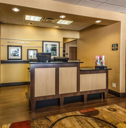 front desk kiosk picture of hampton inn castle rock castle rock rh tripadvisor co za