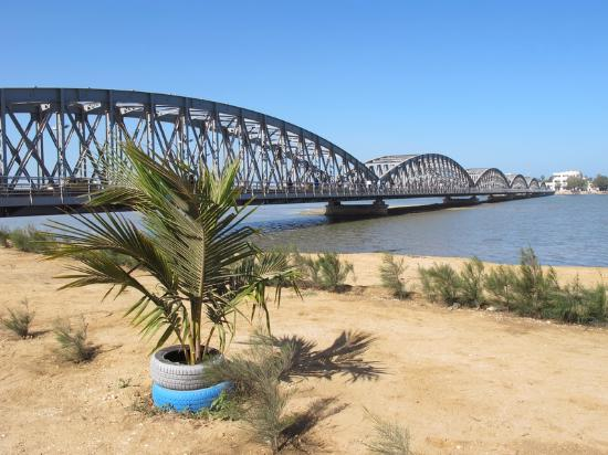 Saint-Louis, Senegal: Le pont Faidherbe