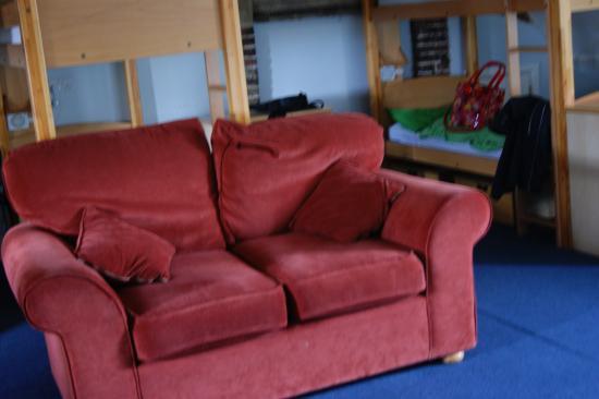 Abbey House Tearooms Cafe Yha Whitby Dorm Room Sofa
